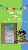 Earth Day vs. Arbor Day- Informational Text Flipbook and C