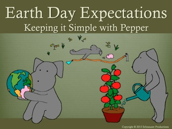 Earth Day with Pepper