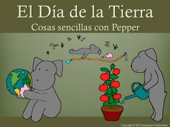 Earth Day with Pepper in Spanish