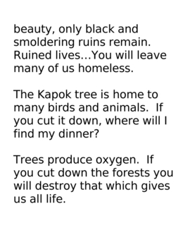 Earth Day with The Great Kapok Tree
