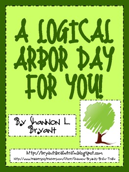 Earth Day/Arbor Day Critical Thinking FREEBIE!  (A Logical Arbor Day)
