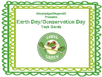 Earth Day/Conservation Day-Task Cards