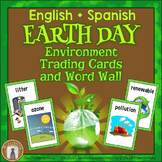 Earth Day Vocabulary Trading Cards and Posters