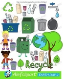 Earth Day.Love Our Planet Clip Art. Digital Clipart. Creat