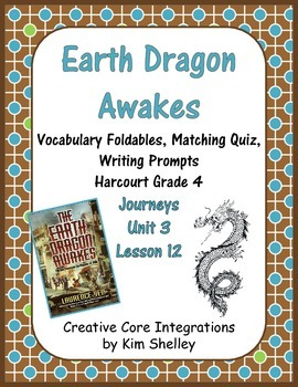 Earth Dragon Awakes Journeys Unit 3 Lesson 12 Mini-Bundle