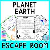 Earth ESCAPE ROOM! - Earth Science - planets - NO PREP, PRINT & GO!