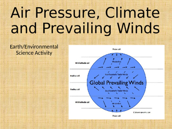Earth/Environmental Science Activity: Prevailing Winds