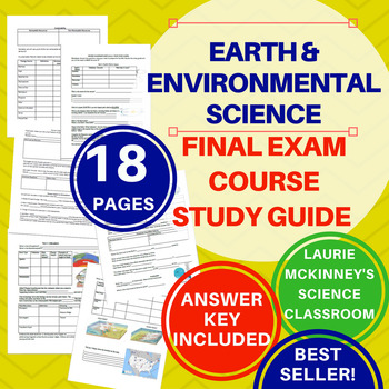 Earth Science Study Guide & Answer Key