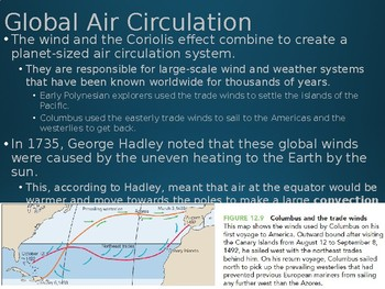 Earth/Environmental Science Lecture Notes: Global Air Circulation