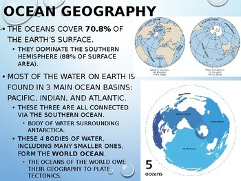 Earth/Environmental Science Lecture Notes: Oceans