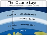 Earth/Environmental Science Lecture Notes: The Ozone Layer