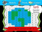 Earth Expanded Notation - Watch, Think, Color Mystery Pictures