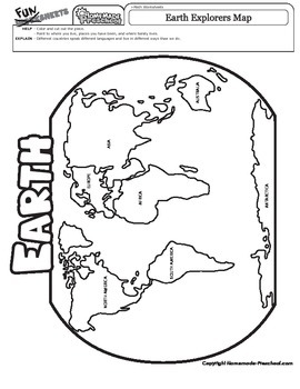 Earth Explorers Map