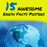 Earth Facts Posters x 15