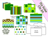 Earth Friendly File Folders