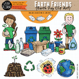 Earth Day Clip Art {Recycling}