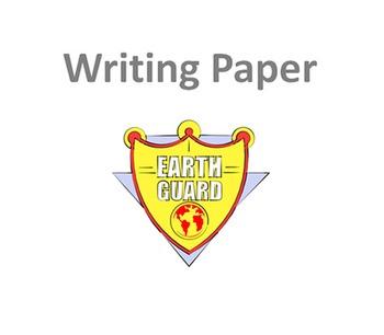 Earth Guard Writing Paper
