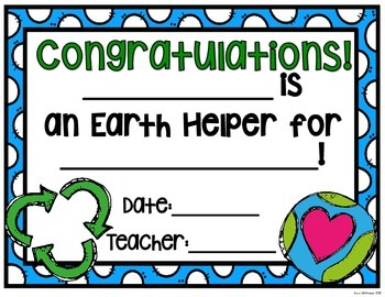 Earth Helper Certificate {FREE}
