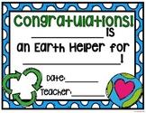 Earth Helper Certificate {FREE}