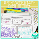 Earth History Reading Passages Bundle