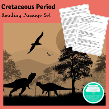 Earth History Reading Passages: Cretaceous Period