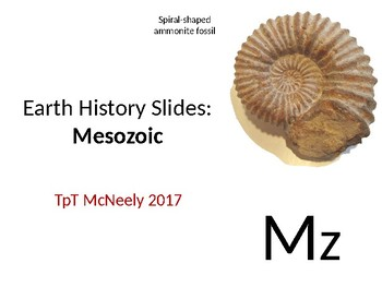Earth History Teaching Slides: Mesozoic