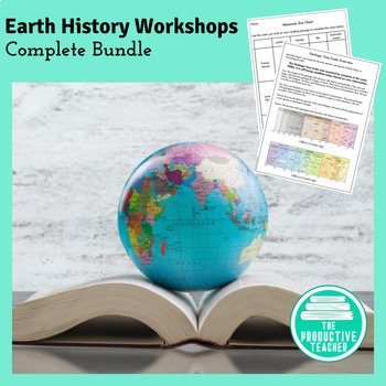 Earth History Unit - Workshop Lessons, Reading Passages, and Assessments