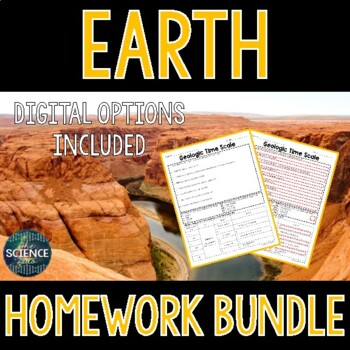 Earth Homework