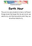 Earth Hour Worksheet