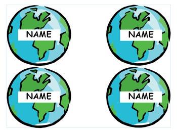 Earth ID Badge