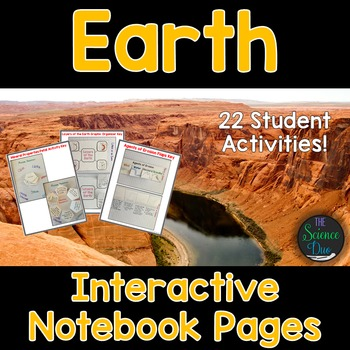 Earth Interactive Notebook Pages