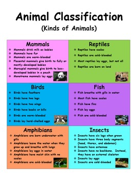Animal Classification and Behavior Science Reading Pages!  Unique World Animals!