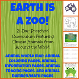 Animal Activity Bundle for Elementary! Science, Numbers, Geography, Fine Motor!