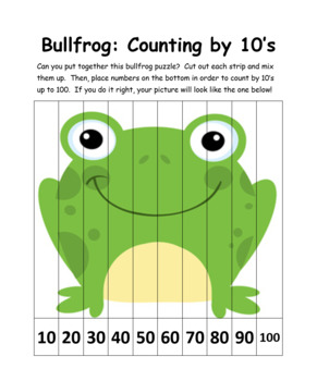 Earth Is a Zoo Preschool Number & Math Pages: 21 Pgs Featu