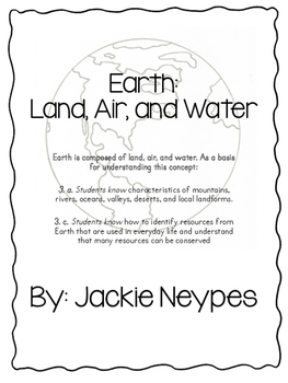 Earth: Land, Air, and Water