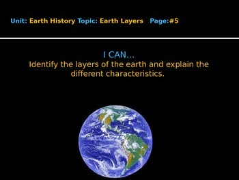 Earth Layers PPT