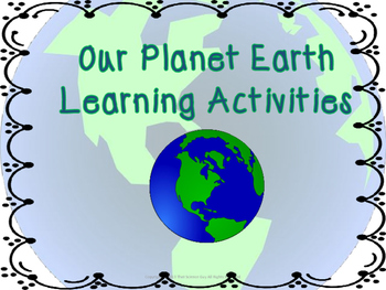 Earth Learning Activities (STEAM)