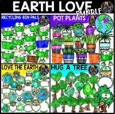 Earth Love Clip Art Bundle {Educlips Clipart}