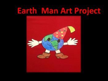 Earth Man Art Activity