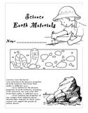 Earth Materials 1st grade common core