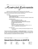 Earth Materials: Constructed Environments