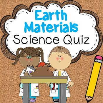 Earth Materials Science Quiz