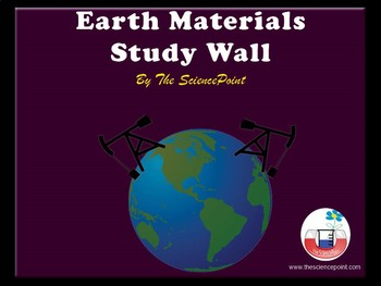 Earth Materials - Study Wall