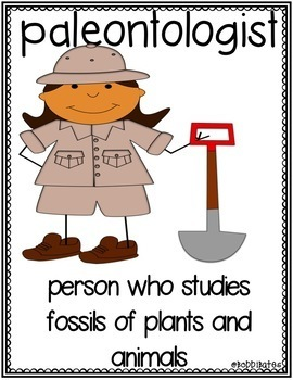 Earth Materials Vocabulary Word Posters