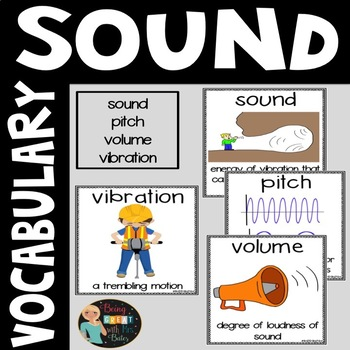 Sound Vocabulary Word Posters