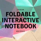 Renewable and non-renewable resources (Interactive Notebook - Foldable)
