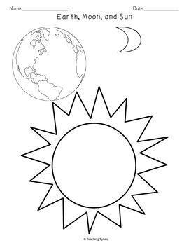 Earth Moon Sun Crossword Puzzle