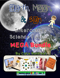 Earth, Moon, and Sun Interactive Notebook Bundle/ Activities/ Labs/ Worksheets