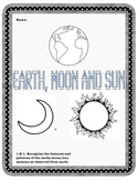 Earth, Moon, Sun Science Booklet