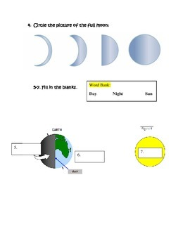 Earth, Moon, Sun Test